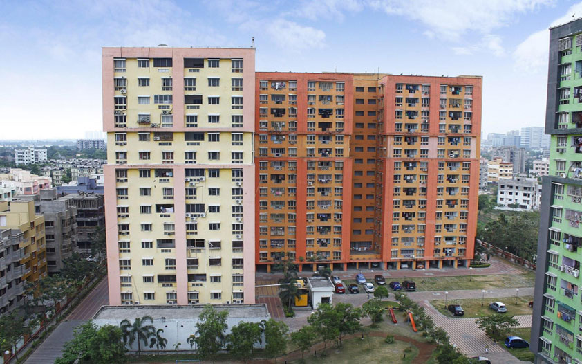 2 BHK Flats for Sale in NBCC New Town Action Area 1 Id115